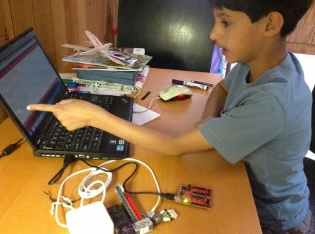 k programming a microcontroller