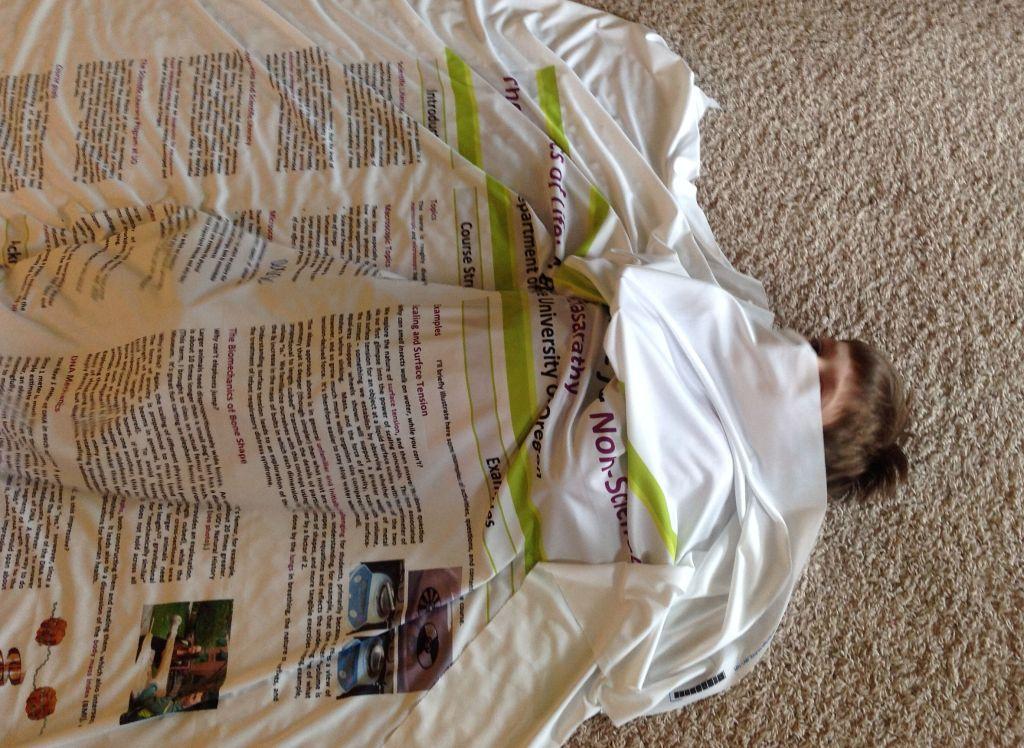cloth poster blanket