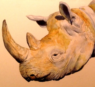 Parthasarathy_rhinoceros_PhotoOfPainting_11-28-16