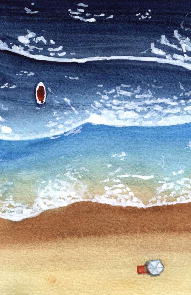Waves on a beach, Raghu Parthasarathy
